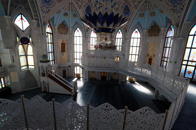 המסגד בשכונה הטטרית של קזאן. צילום: גילי חסקין