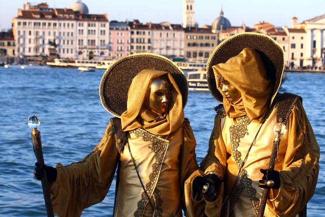 קרנבל המסכות בוונציה. צילום: גילי חסקין