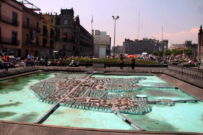 טיול למקסיקו - טנוצ'טיטלן
