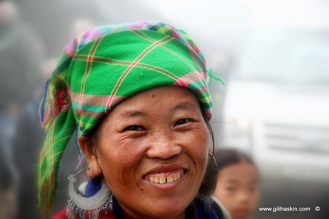 טיול לוייטנאם וקמבודיה - בני השבטים באזור סאפה. צילום: גילי חסקין