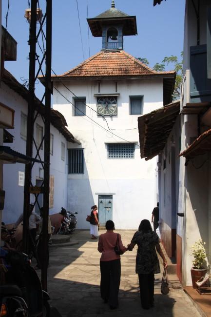 טיול להודו - רחוב היהודים בקוצ'