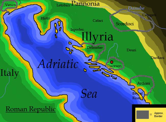 טיול לאלבניה - אילירים