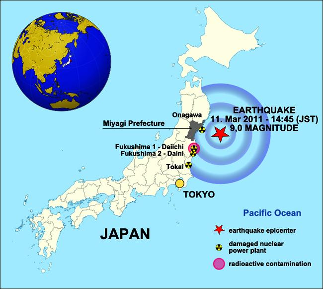 רעידת האדמה והצונאמי