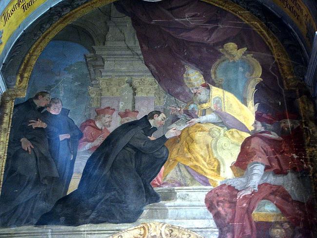 איגנזציוס מלויולה והאפיפיור