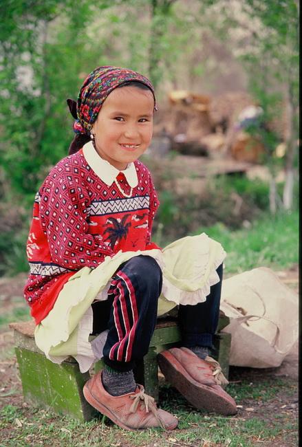 טיול לקירגיזסטן - צילום: גילי חסקין, אוקטובר 2000