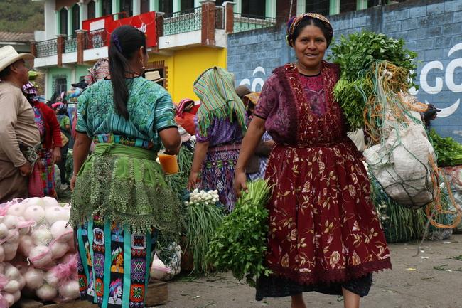 שווקים בגואטמלה