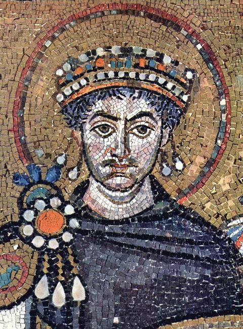 פסיפס של הקייסרית תאודורה, בכנסיית סאן ויטלה ברוונה