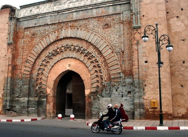 באב אל גנאווה, השער לאפריקה. מראכש. צילום: גילי חסקין