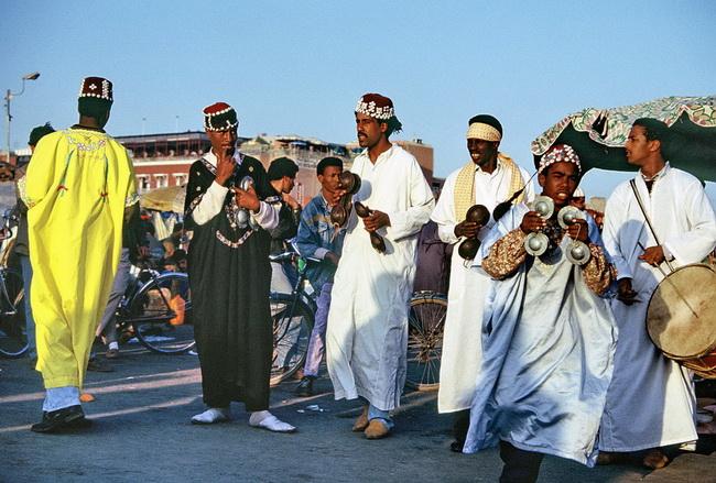 """ריקודי """"גנאווה"""". השפעת הפולקלור האפריקאי על מרוקו. צילום: גילי חסקין"""