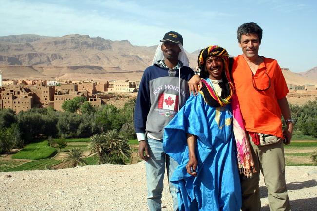 תמונה עם ברברים בהרי האטלס