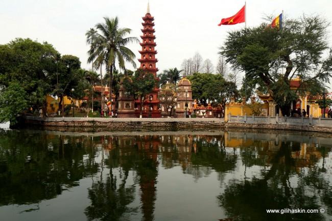 המקדש באגם החרב. האנוי. צילום: גילי חסקין