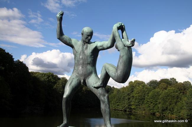 פארק פרוגנר (גן ויגלנד) באוסלו. צילום: גילי חסקין