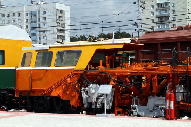 מוזיאון הרכבות בנובוסיבירסק; צילום: גילי חסקין