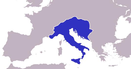 טיול לאיטליה - שלטון האוסטרוגותים