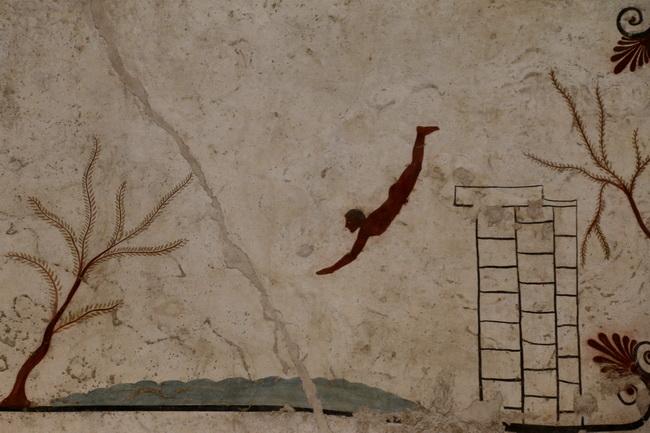 פרסקו מפאקטום, בסגנון פומפייני. צילום: גיללי חסקין