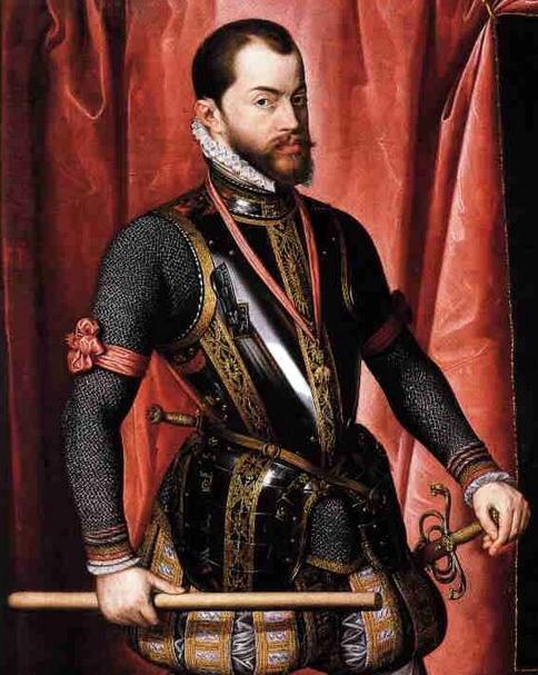 פיליפ השני, מלך ספרד. האדיבות ויקיפדיה