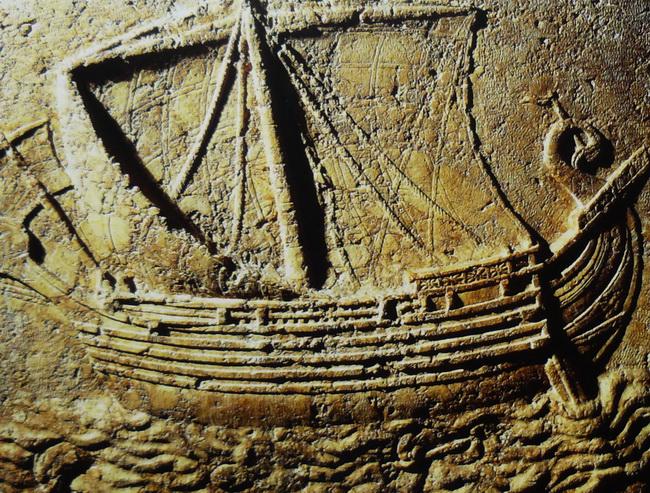 ספינה פיניקית. באדיבות ויקיפדיה