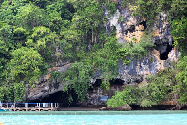 שרידים קדומים להתיישבות אנושית במערת Tabon. הצילום באדיבות Wikipedia