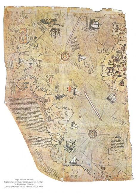 מפת פירי ראיס