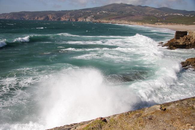 החוף של האוקיינוס האטלנטי. צילם: גילי חסקין