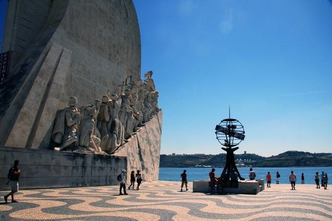 אנדרטת מגלי הים ברובע בלם, ליסבון. צילם: גילי חסקין