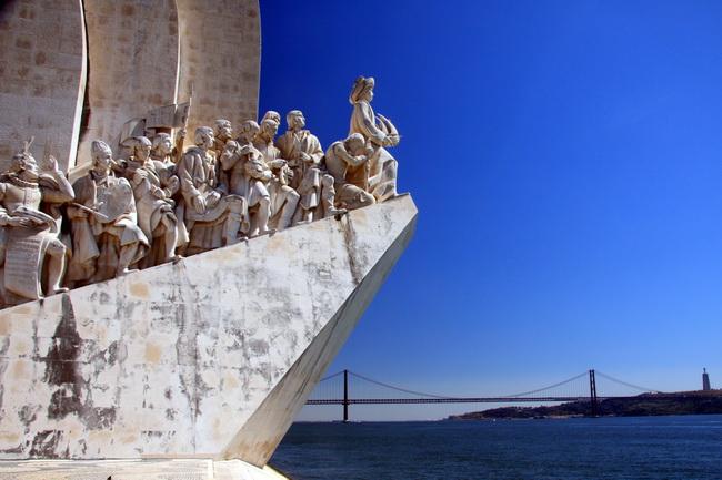 אנדרטת מגלי העולם בבלם, ליסבון. צילם: גילי חסקין