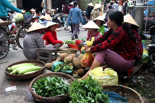 שווקים בדלתא. וייטנאם. צילום: גילי חסקין