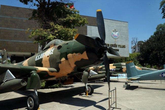 מוזיאון המלחמה בהו צ'י מין סיטי. צילום: גילי חסקין