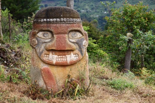 טיול לקולומביה - סן אגוסטין