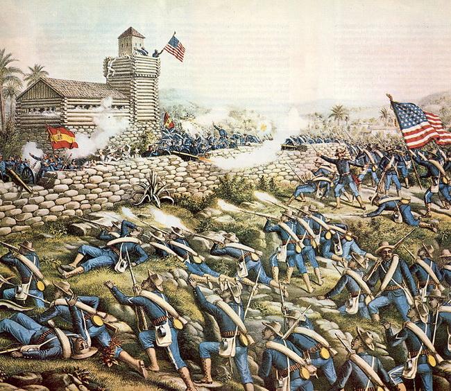 """מלחמת ארה""""ב - מקסיקו. קרב סן חואן. צילום: Wikipedia"""