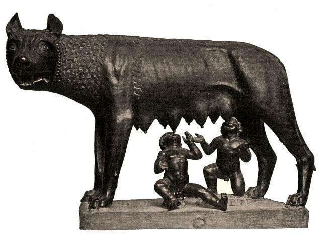פסל רומולוס ורמוס