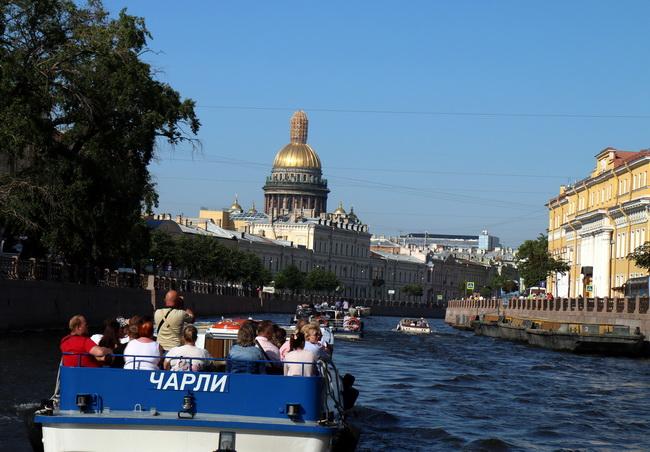 תעלותיה של סנט פטרסבורג; צילום: גילי חסקין. יוני 2016