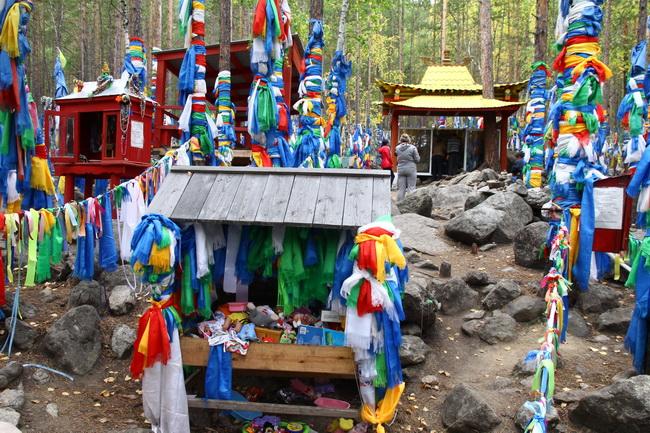 אתר עליה לרגל בודהיסטי, בקעת ברגוזין, בוריאטיה, רוסיה. צילום: גילי חסקין