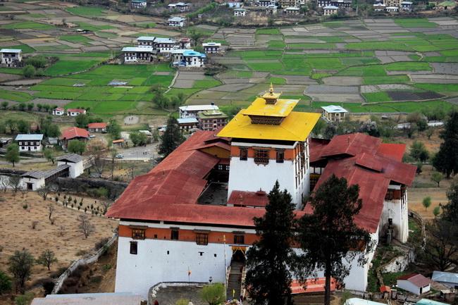 מנזר בבהוטן. צילום: גילי חסקין