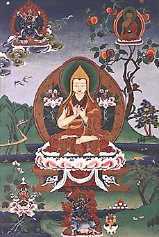 צונג קה פה. Tsongkhapaבאדיבות wikipedia