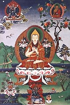 Tsongkhapa באדיבות Wikipedia