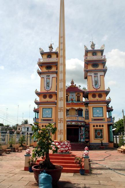 מקדש לקאו דאי. צילום: גילי חסקין
