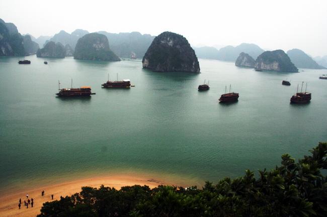 מפרץ האלונג. וייטנאם. צילום: גילי חסקין