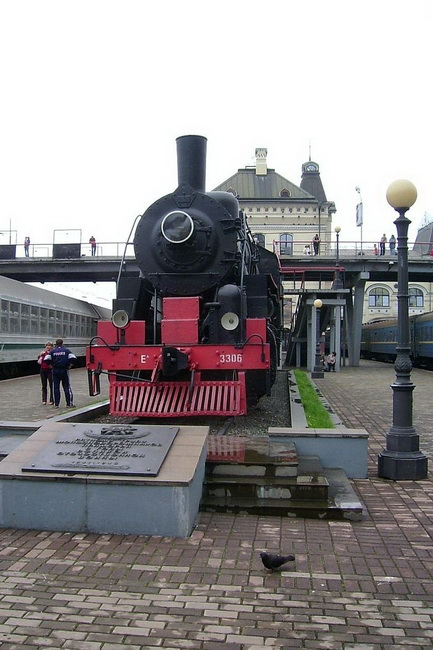 תחנת הרכבת בוולדיווסטוק. הצילום באדיבות ויקיפדיה