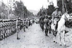 וינגייט נכנס במצעד נצחון לאדיס אבבה