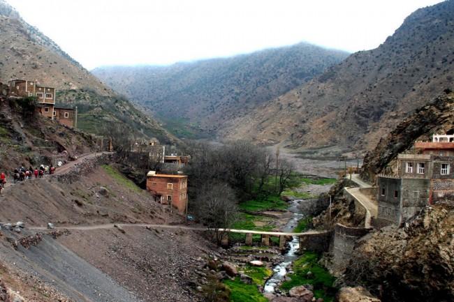 בדרך בין אמליל לארמד, הרי האטלס הגבוה. צילום: גילי חסקין