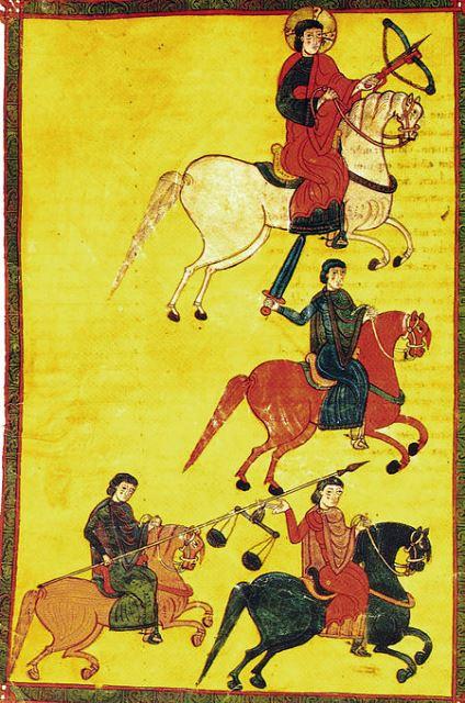 קרב זאלאקה. מיניאטורה משנת 1066
