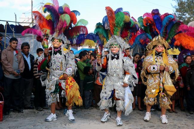 פסטיבל סנטו תומה בצ'יצ'יקסטננגו, גואטמלה. צילום: גילי חסקין