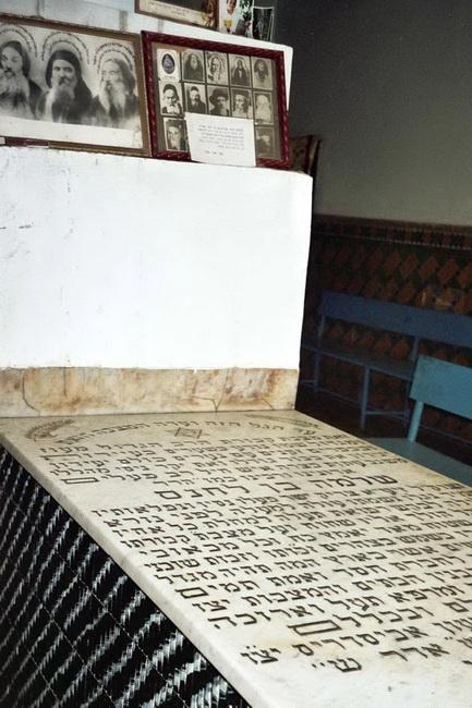קברו של ר' שלמה בלחאנס