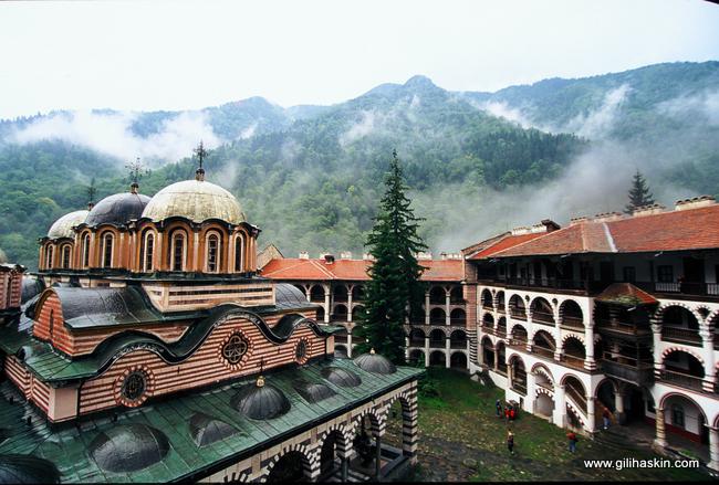 מנזר רילה. צילום: גילי חסקין