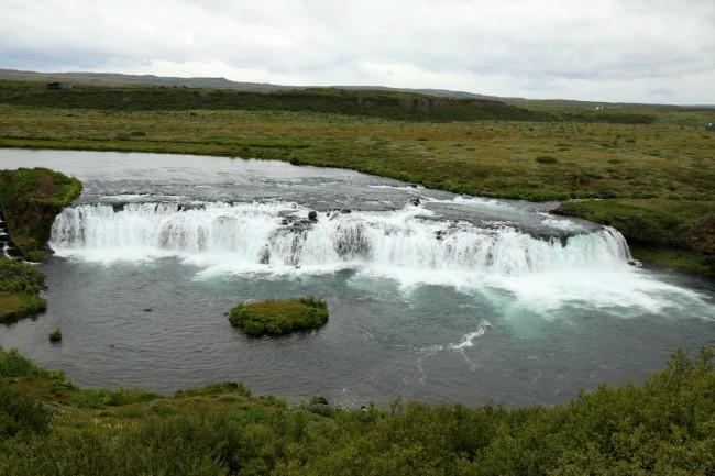 מפלי פקסי - טיול באיסלנד