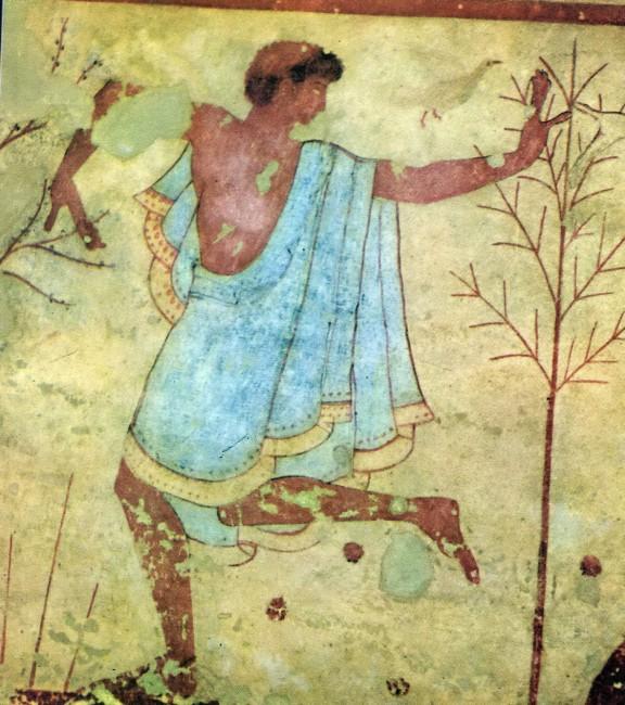 טיול לאיטליה - קבר אטרוסקי
