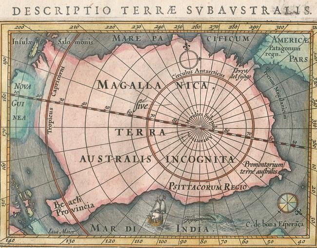 מפת טרה אוסטרליס