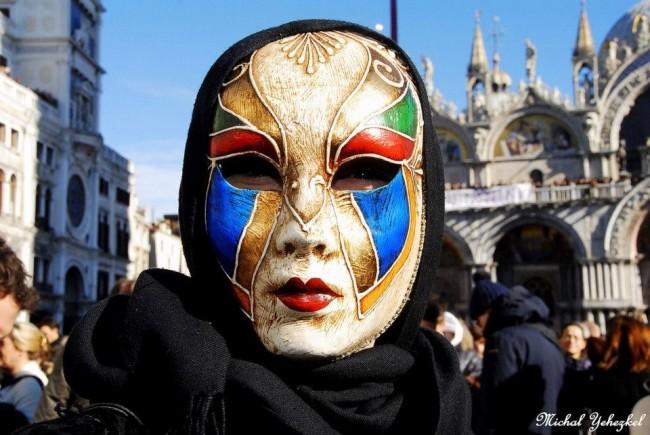 מסיכה בוונציה