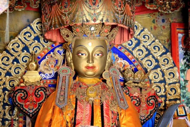 אוולוקיטשוורה. הפטרון של טיסט. אולן באטאר. מונגוליה. צילום: גילי חסקין